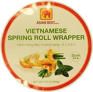 Asian Best Vietnamese Premier Spring Roll Rice Wrapper (3 Packs)