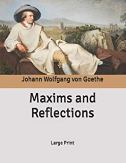 Maxims and Reflections: Large Print