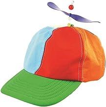 UKKO Casquette De Baseball H/élice /À Pas lenfant D/Ét/é Casquette De Baseball Dragonfly Top Multi-Couleur Patchwork Dr/ôle Belle