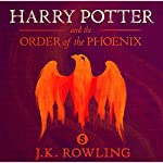 Harry Potter and the Order of the Phoenix, Book 5 cover art