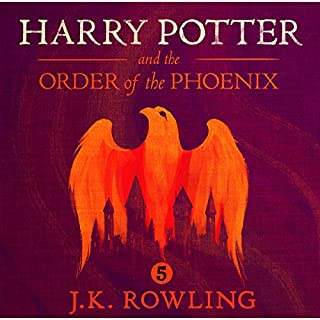 Harry Potter and the Order of the Phoenix, Book 5                   By:                                                                                                                                 J.K. Rowling                               Narrated by:                                                                                                                                 Stephen Fry                      Length: 29 hrs and 39 mins     9,500 ratings     Overall 4.9