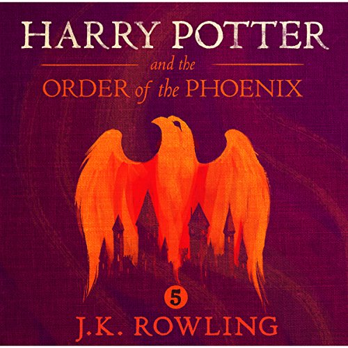 Harry Potter and the Order of the Phoenix, Book 5                   By:                                                                                                                                 J.K. Rowling                               Narrated by:                                                                                                                                 Stephen Fry                      Length: 29 hrs and 39 mins     10,032 ratings     Overall 4.9