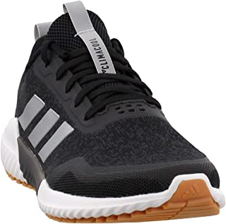 adidas Women's Edge Runner Running Shoes Core Black/Silver Metallic/Carbon 6.5