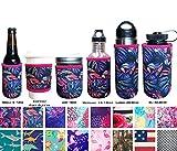 Koverz - Funda aislante de neopreno para biberones, botellas y latas, varios tamaños y estilos, Large 24-30oz, Tropics