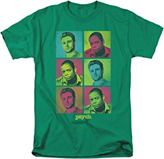 Psych Pop Art Shawn & Gus TV Show T Shirt & Stickers