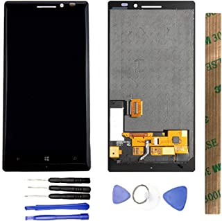JayTong LCD Display & Replacement Touch Screen Digitizer Assembly with Free Tools for Nokia Lumia 930 black