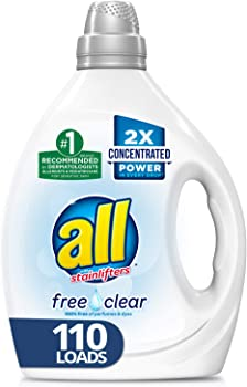 2-Pack All Liquid 2X Concentrated Laundry Detergent 110-Loads