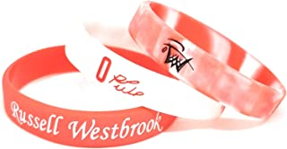 SportsBraceletsPro - Basketball Player Sets - Silicone Wristband - Adult/Teen 7.7