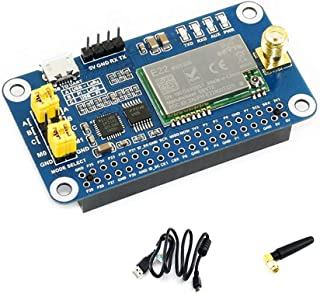 Coolwell Waveshare SX1262 LoRa HAT for Raspberry Pi/Arduino/STM32 Spread Spectrum Modulationup to 81 Available Signal Channel 915MHz Frequency Band Data Transmission up to 5km