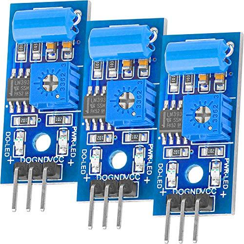 AZDelivery 3 x SW420 Módulo Sensor de Vibración