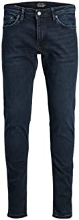 JACK & JONES Men's Jjiglenn JJFELIX AM 458 PCW SPS NOOS Slim Jeans, Black (Black Denim Black Denim), 33 W/32 L