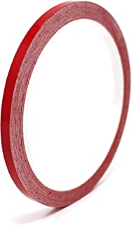 """Vinyl Stripe Tape 751 Pinstriping Striping Sticker 33ft Car Motorcycle Bike RC Car Truck Boat Decal (Red Glossy, 0,196"""")"""