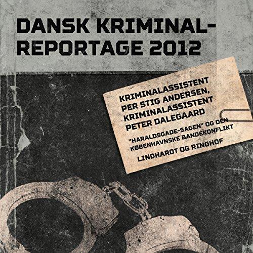 Couverture de Haraldsgade-sagen og den københavnske bandekonflikt