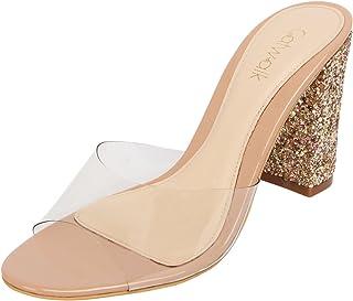 Catwalk Beige Slip-on Sandals