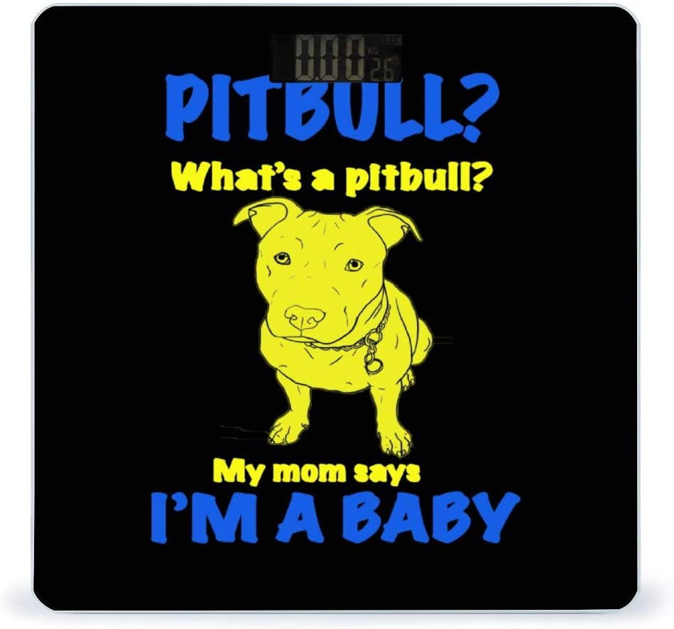 CHUFZSD Pitbull Highly Accurate Tampa Mall Smart Ranking TOP5 Weight Scale Digit Fitness