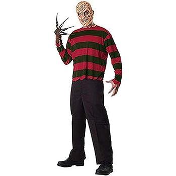Rubies - Disfraz de Freddy Krueger para adulto, camisa, máscara y ...