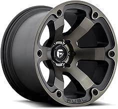 FUEL Off-Road Wheels: Beast (D564) - Matte Black Machined; 20x9 Wheel Size, 6x120 Lug Pattern, 67.0mm Hub Bore, 01mm Off Set.