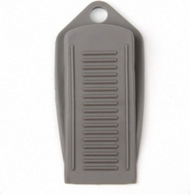 Meoliny Door Stopper Wedge Heavy Duty Door Stops Non-Slip Door Wedge for Home Office,White
