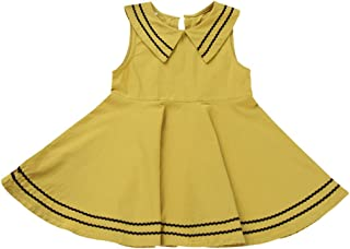 ZUOMA子供服 ワンピース ガールズ 花柄 Aライン フレア 女の子 ドレス