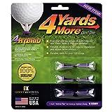 Greenkeepers 4 Hybrid Golf Tee , Purple , 1'