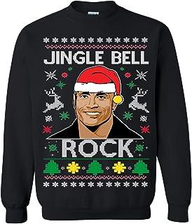 Ugly Christmas Sweater Jingle Bell RockUnisex Sweatshirt