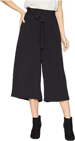 Crop Tie Waist Pants