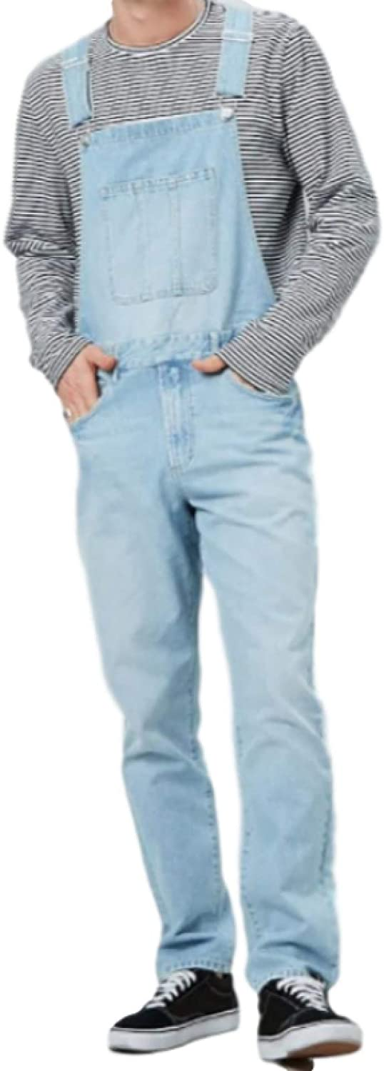 Jubaton Men's Fashion High Back Bib Fall and Max 56% OFF New Shipping Free Overall wit Spring