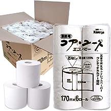 コア・ユース 170mシングル ( 紙芯なし) 6ロール包装×8個 ケース販売