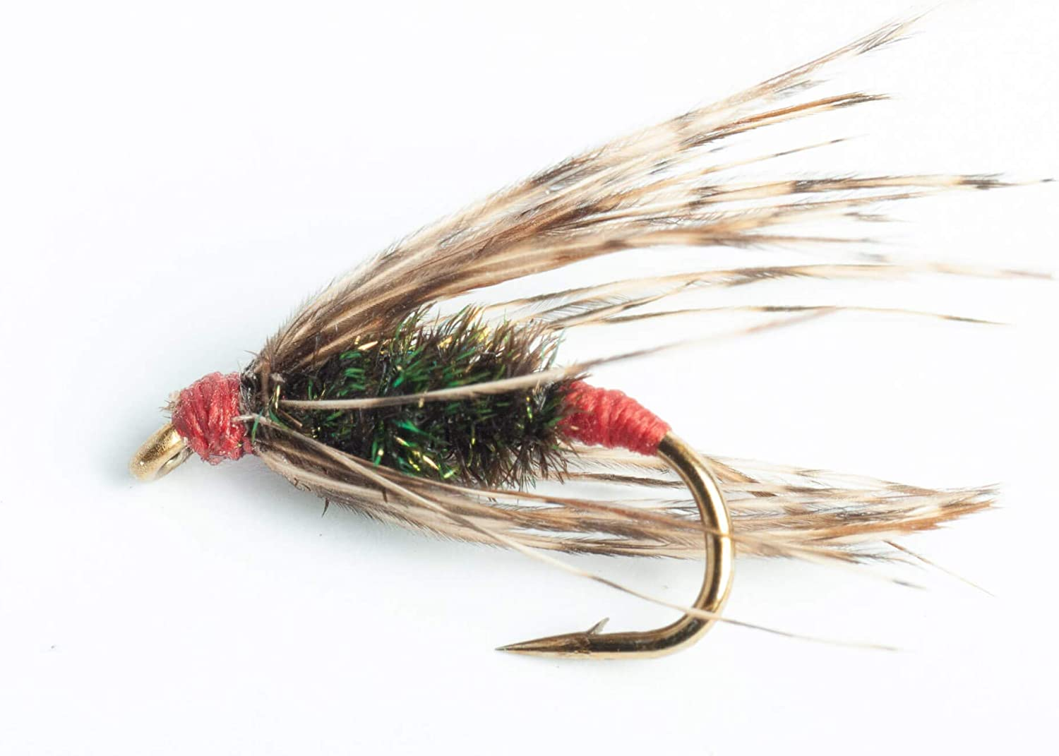Blue Max 40% OFF Wing Max 64% OFF Olive Red Ass 6-Pack Kelso Wet Fly