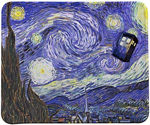Cool Starry Night Vincent Van Gogh Painting Mouse Pad VIVIPOW(TM)
