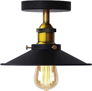 Vintage Retro parasol lampa sufitowa retro przemysłowa metal Copperhead lampa sufitowa E27 kuchnia loft Bar oświetlenie ba...