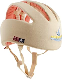 Dolity Baby Adjustable Safety Helmet Children Headguard Toddler Protective Harnesses Cap - Beige #B