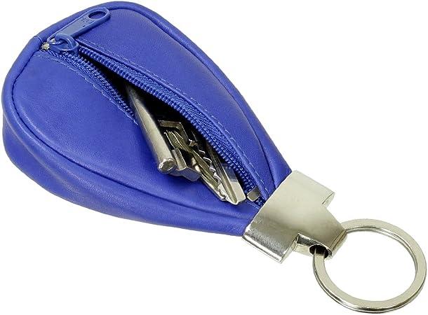 DrachenLeder Unisex Schlüsseltasche Etui Minibörse Farbwahl Echtleder OPR800X