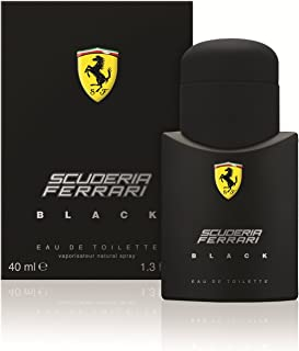 Ferrari Black By Ferrari For Men. Eau De Toilette Spray 1.3 Ounces