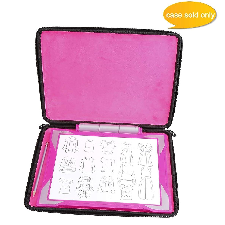 Aproca Hard Travel Storage Case Bag Fit Crayola Light-up Tracing Pad Coloring Board