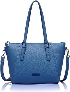 Caprese Spring-Summer 21 CF Women's Satchel (Blue)