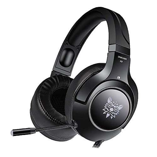 Ceppekyy Gaming Headset Compatible with PS4, PC, Xbox One, Surround Sound Over-