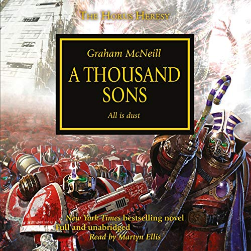 Page de couverture de A Thousand Sons