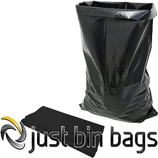 Just Bin Bags 100 Sacos de escombros Negros - Sacos de
