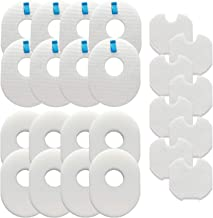 Lemige Vacuum Filters Replacement Set for Shark Rocket HV300, HV300W, HV301, HV302, HV303, HV305, HV308, HV310, UV450, 8 Foam Filters + 8 Felt Filters + 8 Post-Filters, Compare to Part XFFV300
