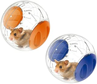 emours Run-About Mini 4.8 inch Small Animal Hamster Run Exercise Ball,2 Pack