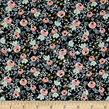 Cotton + Steel Rifle Paper Co. Menagerie Rosa Hunter Fabric by The Yard