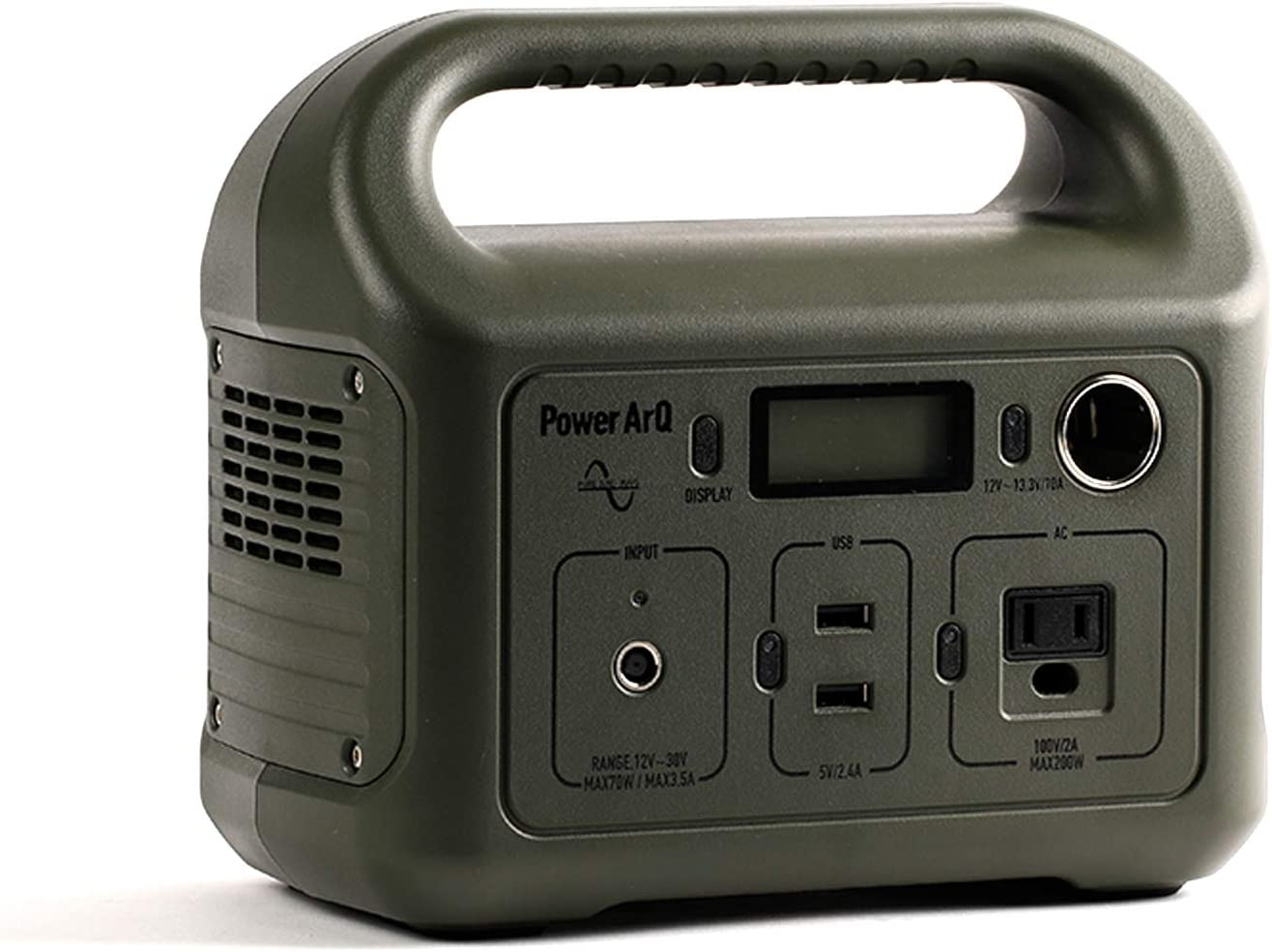 PowerArQ mini ポータブル電源 346Wh Smart Tap/スマートタップ(Smart Tap)