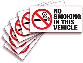 Best no smoking vehicle stickers Reviews