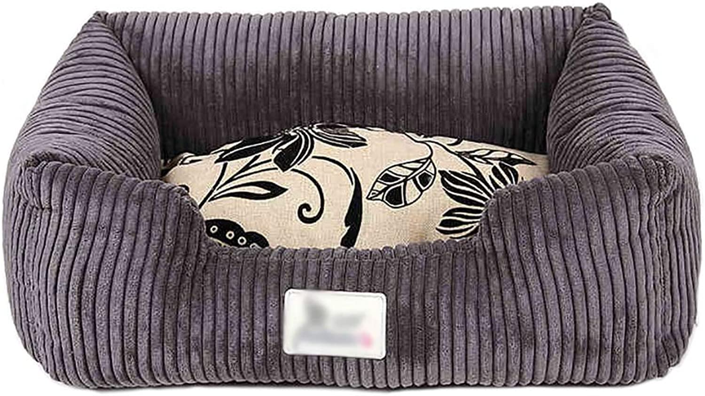 Pet house Cat nest kennel Small dog Medium dog Washable Pet nest pet bed Pet mat Soft comfortable Breathable Four seasons available (Size   75  55  20)