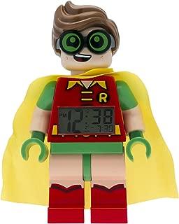 LEGO 9009358 Batman Movie Robin Minifigure Light Up Alarm Clock