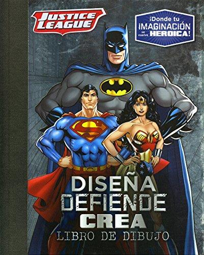 Diseña, defiende, crea: Justice League