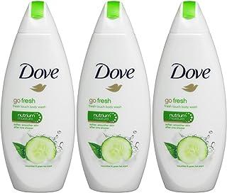 Dove Go Fresh Body Wash - International Version , 3- Count