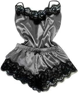 be7f0109f FREE Shipping. Alueeu Lingerie Fashion Sexy Lace Sleepwear Lingerie  Temptation Babydoll Underwear Nightdress Sexy Suit Strap Pajamas