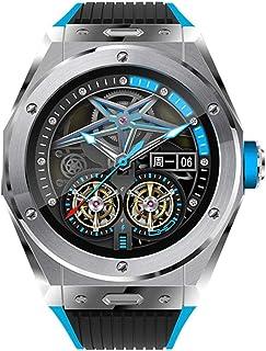 Moda męska inteligentny zegarek smartwatch bransoletka fitness tracker połączenie Bluetooth cyfrowe zegarki kalorie krokom...
